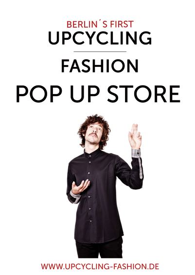 Berlin upcycling pop up store