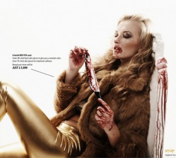 anti-fur campaign